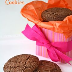 Mexican Hot Chocolate Cookies - my new favorite cookies. They're a total hit!