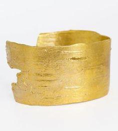 Birch Brass Cuff