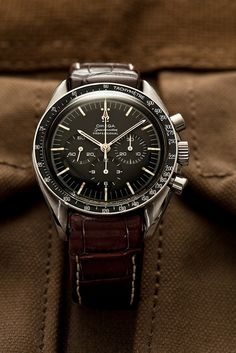 Omega Speedmaster - For me, the best looking watch for a real man....and woman too!!!!