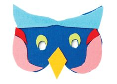 Make masks out of coloured felt