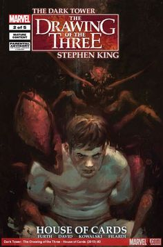Dark Tower Art, The Dark Tower, Stephen King House, La Tour Sombre, House Of Cards, Comics Online, Illustration, The Darkest, Marvel