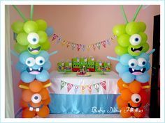Little Monster Birthday, Monster 1st Birthdays, Monster Birthday Parties, 1st Boy Birthday, Birthday Diy, First Birthday Parties, Birthday Celebration, First Birthdays, Birthday Ideas