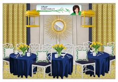 Save A Seat For Me:Designer MBA Camp! by Jane Gianarelli by janegianarelli. Create your own interior design moodboard now! Create Yourself, Create Your Own, Table Decorations, Interior Design, Yellow, Home Decor, Design Interiors, Homemade Home Decor, Home Interior Design