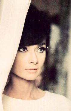 "hepburndeneuvekelly: Audrey Hepburn on the set of ""How to Steal a Million"" dir. William Wyler (1966)."