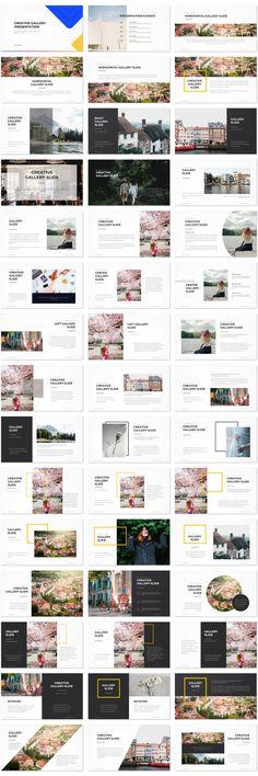 Creative Gallery Presentation Template