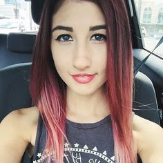 This is Meg. She is a very creative YouTuber  that I would love to meet someday. Oh and...... I think I watched every single video she made.
