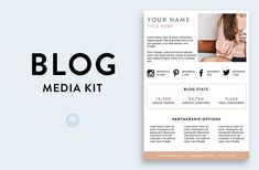Blog Media Kit | Key