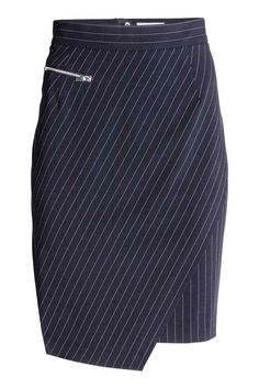 Pinstripe skirt | H&M