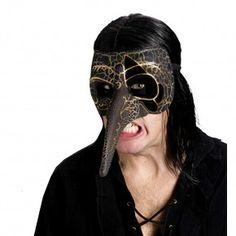 Венецианская маска черного ворона
