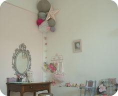 *Tadaam !: Miroir baroque pour chambre girly