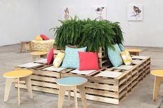 """<p> South Florida-based <a href=""""http://www.bizbash.com/ronen-rental-boutique-event-furnishings/miami/listing/816598"""">Ronen Rental</a> introduced its new wood pallet lounge ($950) as a seating area option. The hand-crafted..."""