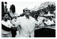 """#ImagineMW À quoi pense Jack Nicholson sur cette photo de l'expo """"Famous"""" de #MouronEtRostain #MEP? #MuseumWeek pic.twitter.com/eI4qr7A1gJ"""