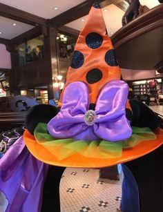 Parques de Disney Minnie Mouse Sombrero De Bruja Disfraz Vestido Niños-Nuevo