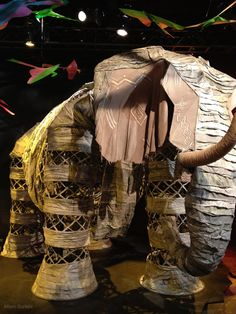 The elephant from the Lion King- I have cried both times I've seen the show when the elephant walked in. It was just so beautiful to see