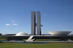 Oscar Niemeyer: National Congress in Brasilia
