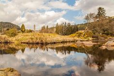 Glendasan River and Monastic City, Glendalough, Wicklow