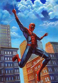Spider-Man by Adam Brown #comics #art