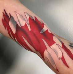 18 patriotic canadian flag tattoos to be canada and for Canadian patriotic tattoos