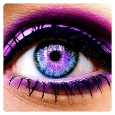 Selfie Eye Colour and Face Makeover - Change your color or add galaxy, wild cat and rainbow contact lenses then add lashes, liner and eyebrows by OMJ Holdings Pty Ltd Pretty Eyes, Cool Eyes, Beautiful Eyes, Amazing Eyes, Simply Beautiful, Beautiful Images, Eyeliner Perfecto, Face Makeover, Violet Eyes
