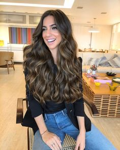 Braided Updo - 20 Easy Party Hairstyles for Long Hair - The Trending Hairstyle Balayage Hair Blonde, Brown Blonde Hair, Brunette Hair, Ombre Hair, Blue Hair, Light Brown Hair, Party Hairstyles For Long Hair, Long Wavy Hair, Hair Looks
