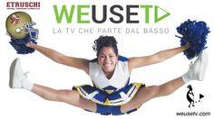#weusetv ft #etruschifootball #Cheer4u - #Etruschi #Cheerleaders #livorno #americanfootball #Awakening