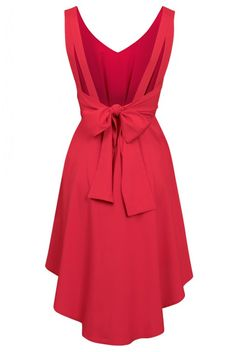 Louche Chica V Back Dress