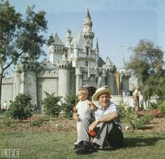 Walt and his grandson Christopher