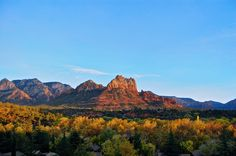 We can't wait for the leaves to change color... there is nothing better than a vivid Red Rock view! #sedonaaz #redrockview #fall #89Agave