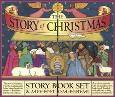 The Story of Christmas Story Book Set & Advent Calendar by Carolyn Croll,http://www.amazon.com/dp/1563055473/ref=cm_sw_r_pi_dp_4PMFsb17CC4G5WW5