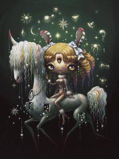 "Yoko d'Holbachie""Naked Horse"" © 2016 www.dholbachie.com"
