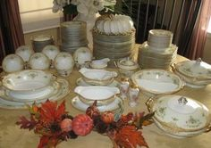 130 PC Noritake Leona China Set Service 12 w 20 Dinner Plates Many Serving Pcs | eBay