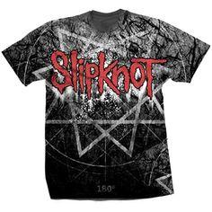 Slipknot Men's Tee: Giant Star Wholesale Ref:SKTS29MW