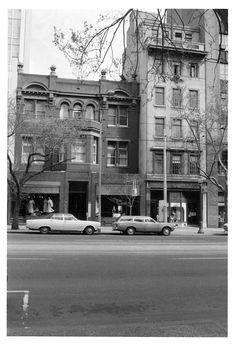 John Collins, 1980s, Melbourne, Street View, Victoria, Australia, History, Retro, Building