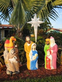 Nativity blow mold style