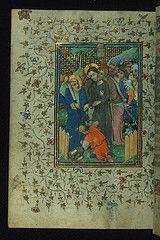 Book of Hours of Daniel Rym, Betrayal and Arrest, Walters Manuscript W.166, fol. 106v