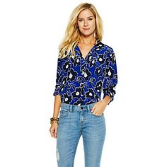 Just fell in love with the Silk Graphic Floral Printed Shirt for $99.99 on C. Wonder! Click on the image and receive 20% off your next full-price purchase and find something you love too!