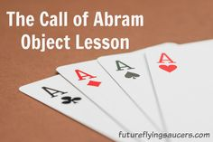 Trusting God to be Who He says He is is vital to our foundation of faith. This Call of Abram Object Lesson will encourage children to trust in God.
