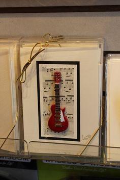 Handmade Guitar Cards