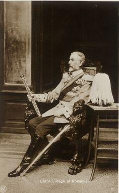 King Carol i of Romania Kaiser, Dark Fashion, Royalty, Romantic, Concert, Portraits, Houses, King, Movie