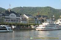 "Rhine River cruises - especially the ""Rhine in Flames"""