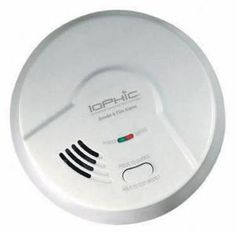 Hardwired Interconnected Smoke and Fire Alarm-MDS107 at The Home Depot...tells the difference between cooking smoke and fires
