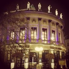 Theater Toneelhuis (literally translated this means acting house), Antwerp #belgium