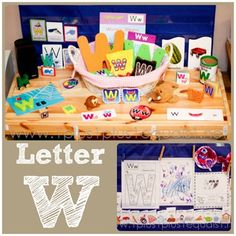 Home Preschool Letter W from @{1plus1plus1} Carisa