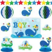 Ahoy Baby Boy Baby Shower Room Decorating Kit - Party City