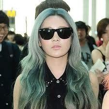 Bildresultat för popular kpop hair colors
