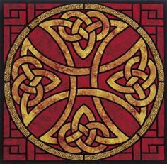 stained glass celtic cross - Buscar con Google