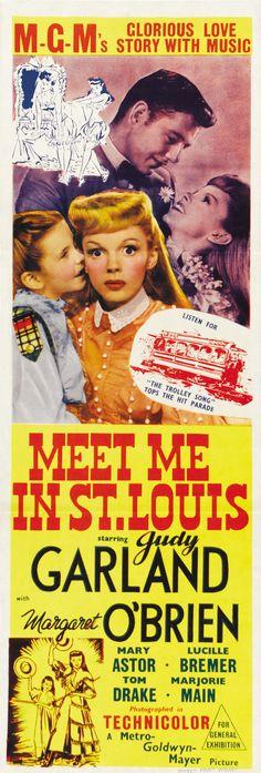 Meet Me in St. Louis (1944) Judy Garland, Margaret O'Brien, Mary Astor, Lucille Bremer, Tom Drake, Marjorie Main