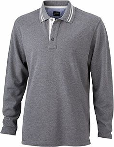 Herren Langarm-Poloshirt im digatex-package