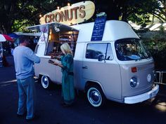 Cronuts at Eumundi markets , yum Noosa Australia, Vw T1, Vw Camper, Vw Beetles, Open House, Shops, Van, Dreams, Type