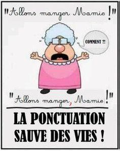 ... La ponctuation s